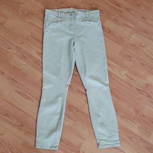 Gap modern stretch skinny crop ankle jeans